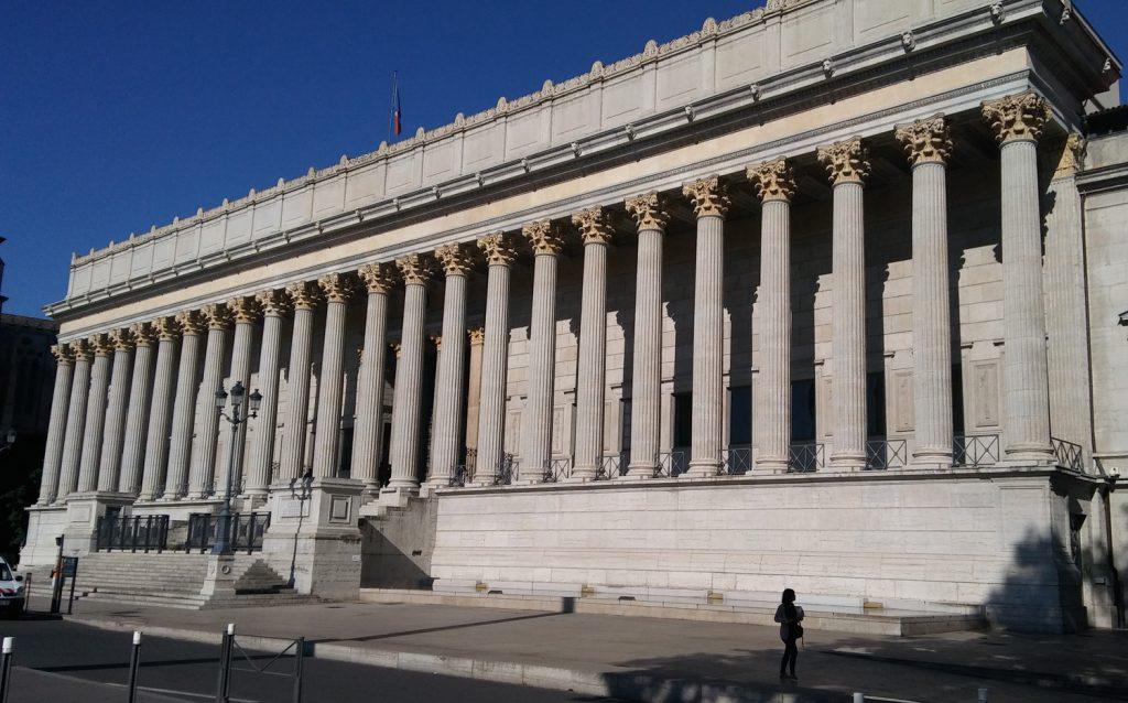 Le Palais de justice « historique » de Lyon